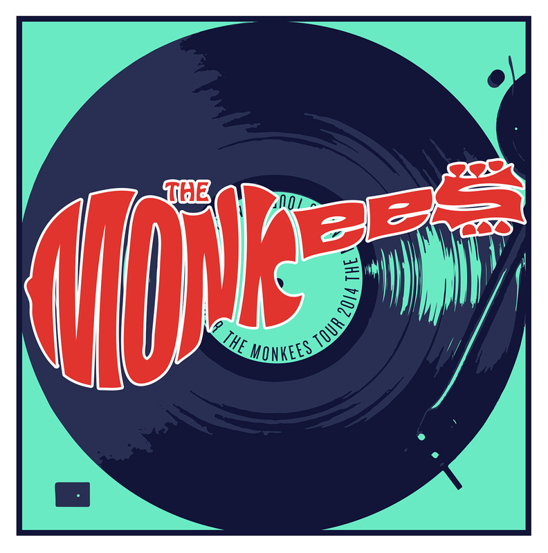 Monkees tour program 2014