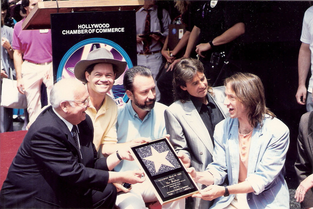 Monkees Walk of Fame 1989