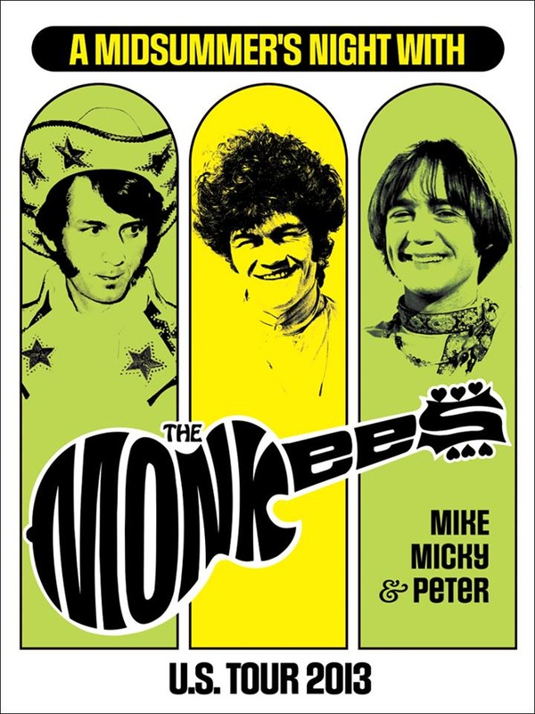 Monkees tour 2013