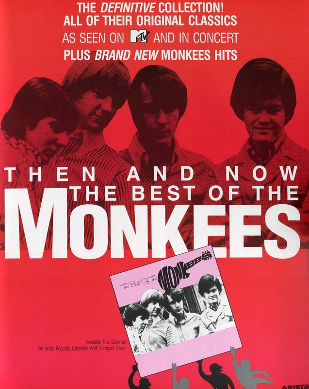 Then and Now The Best of the Monkees ad