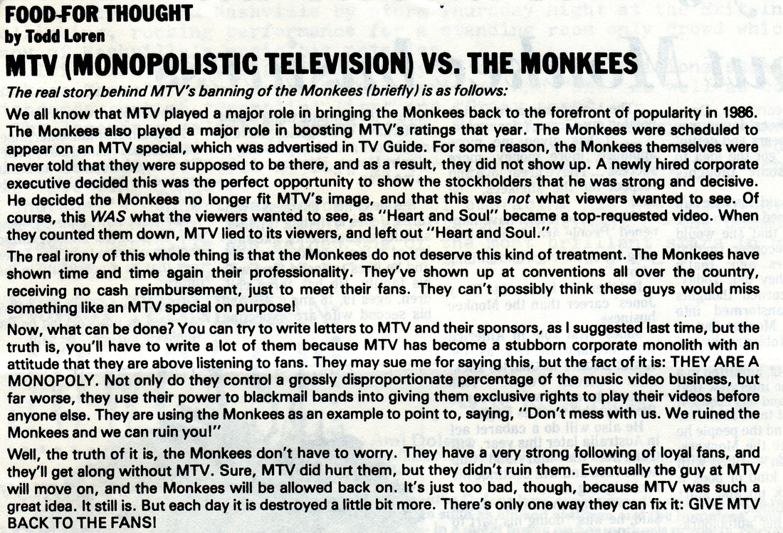 Monkees vs MTV