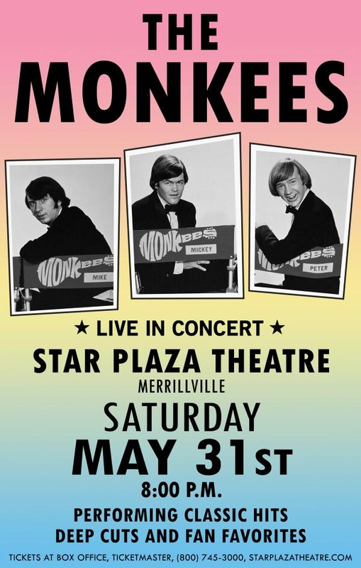 Monkees Star Plaza Theatre poster