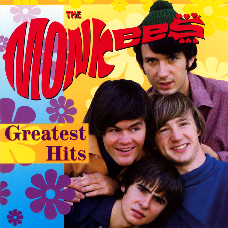 Monkees Greatest Hits CD cover