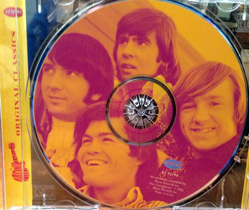 Monkees Greatest Hits CD compact disc