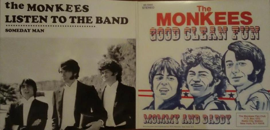 Monkees Present yellow vinyl gatefold