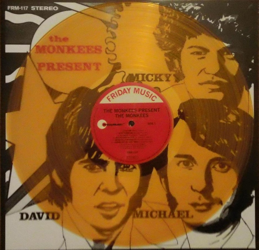 Monkees Present yellow vinyl