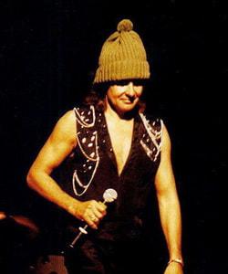Davy Jones Monkees live 1989 wool hat