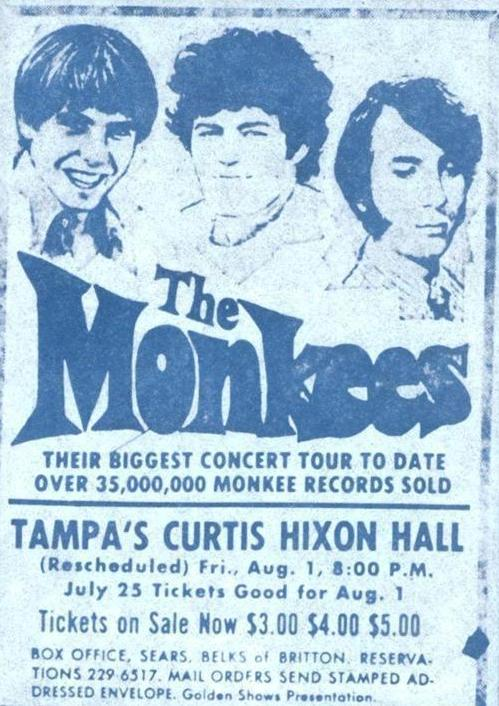 Monkees Florida 1969
