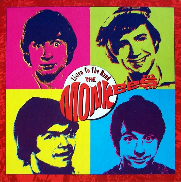 Monkees Listen to the Band box set cover