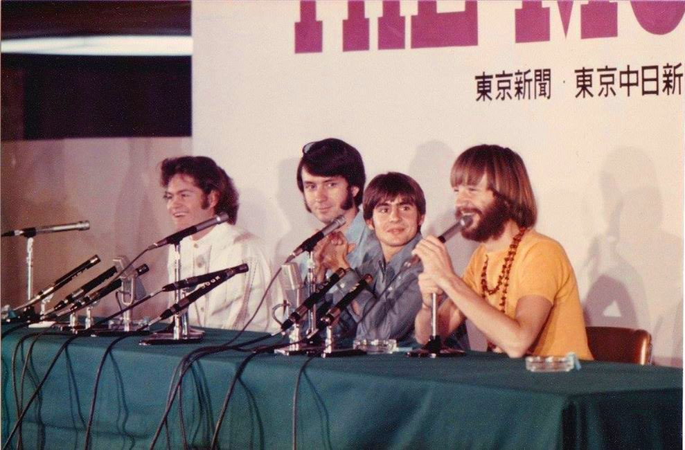Monkees 1968 tour Japan conference