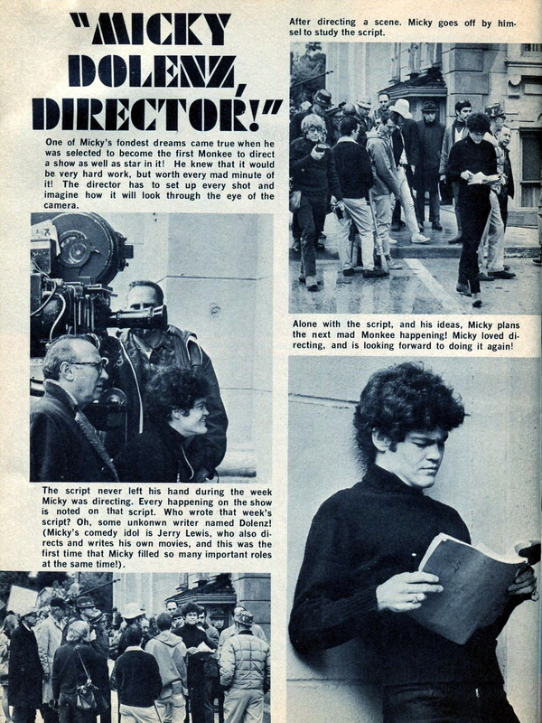 Micky Dolenz director Frodis Caper