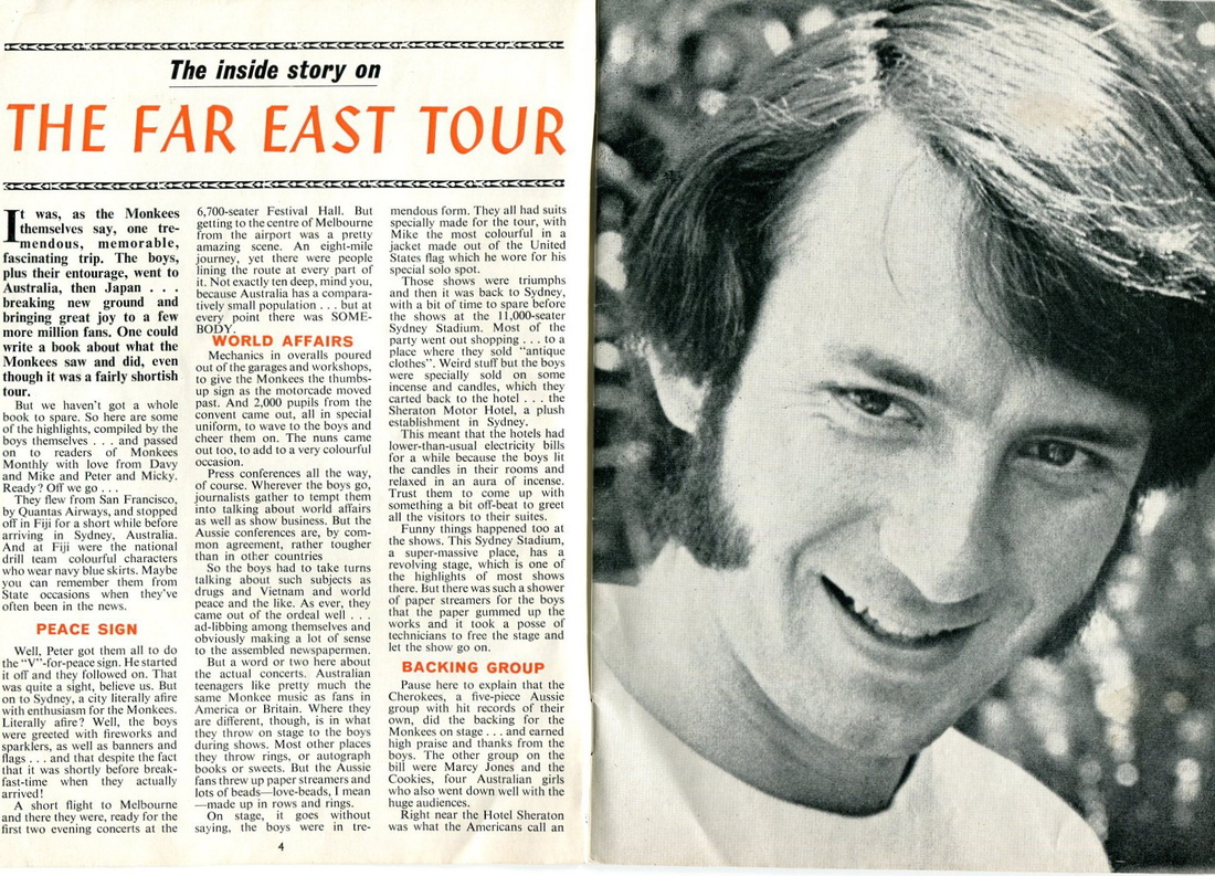 Monkees Far East tour 1968