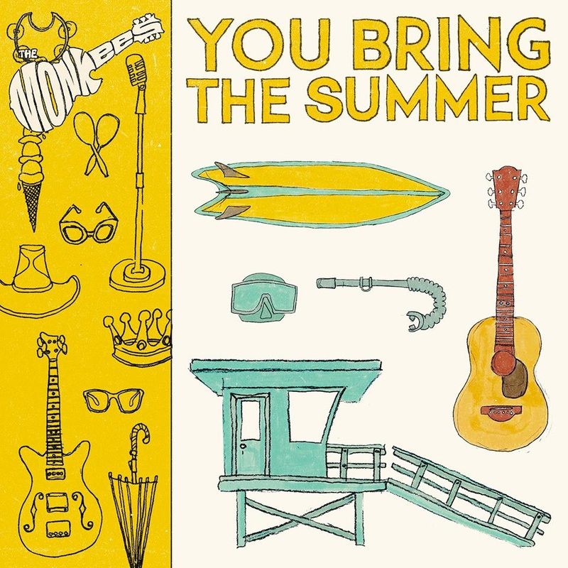 Monkees You Bring the Summer sleeve