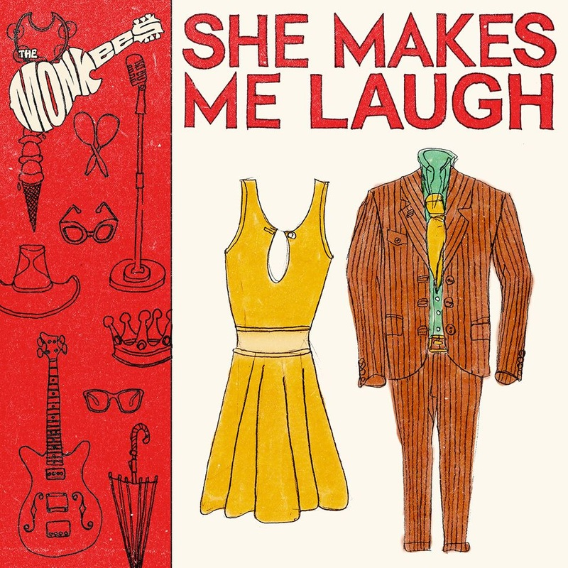 Monkees She Makes Me Laugh