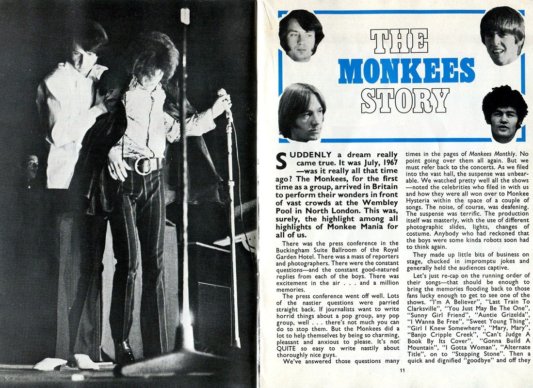Monkees Wembley 1967