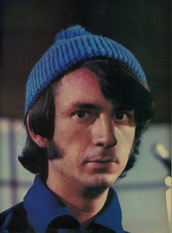 Mike Nesmith blue wool hat