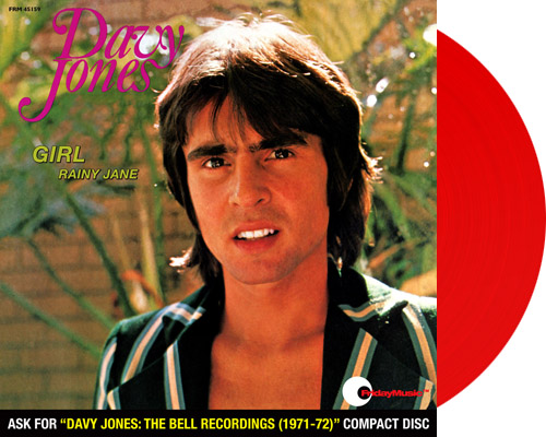 davy single girls This solo single from ex-monkee davy jones finds the singer fawning over his new love interest, who has made the world a better and brighter place for him.