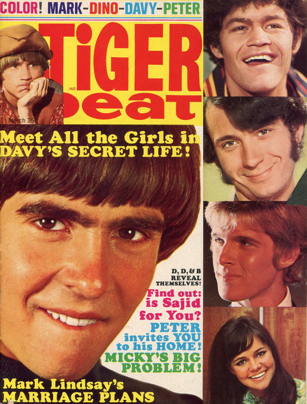 March 1968 Tiger Beat Monkees