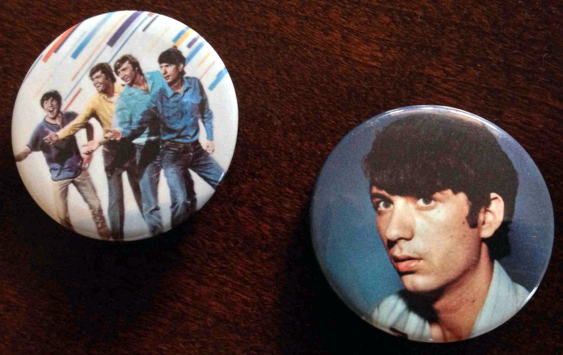 Monkees buttons