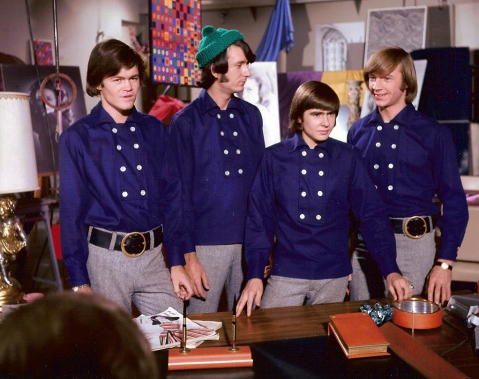 Monkees 8 button shirt