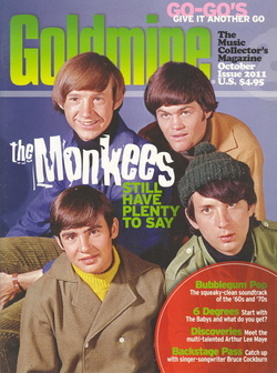 Monkees Goldmine Magazine 2011