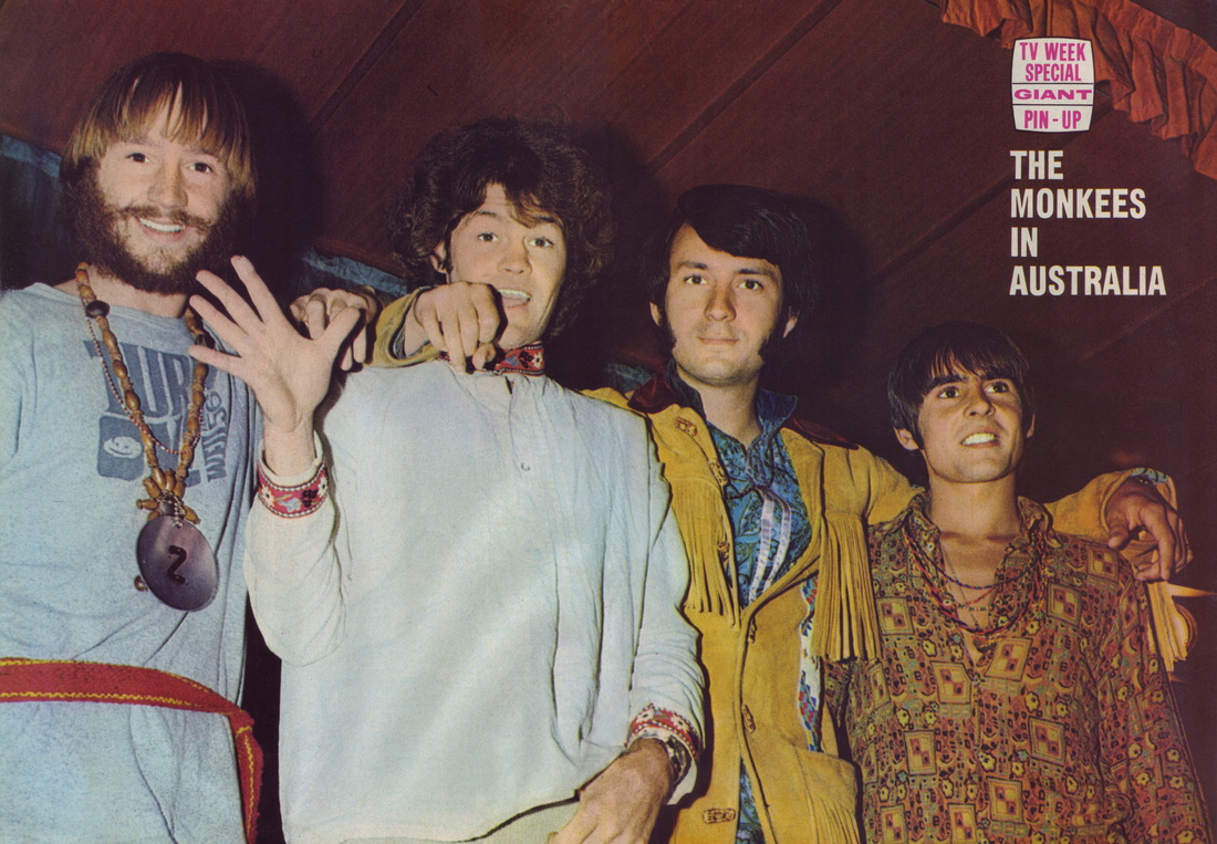Monkees Australia 1968 tour