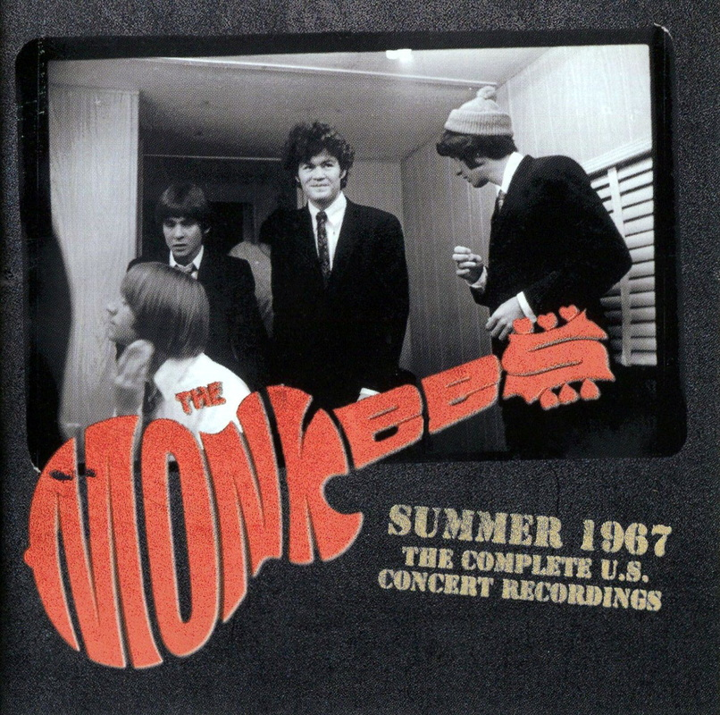 Monkees Live 1967 Complete Recordings booklet