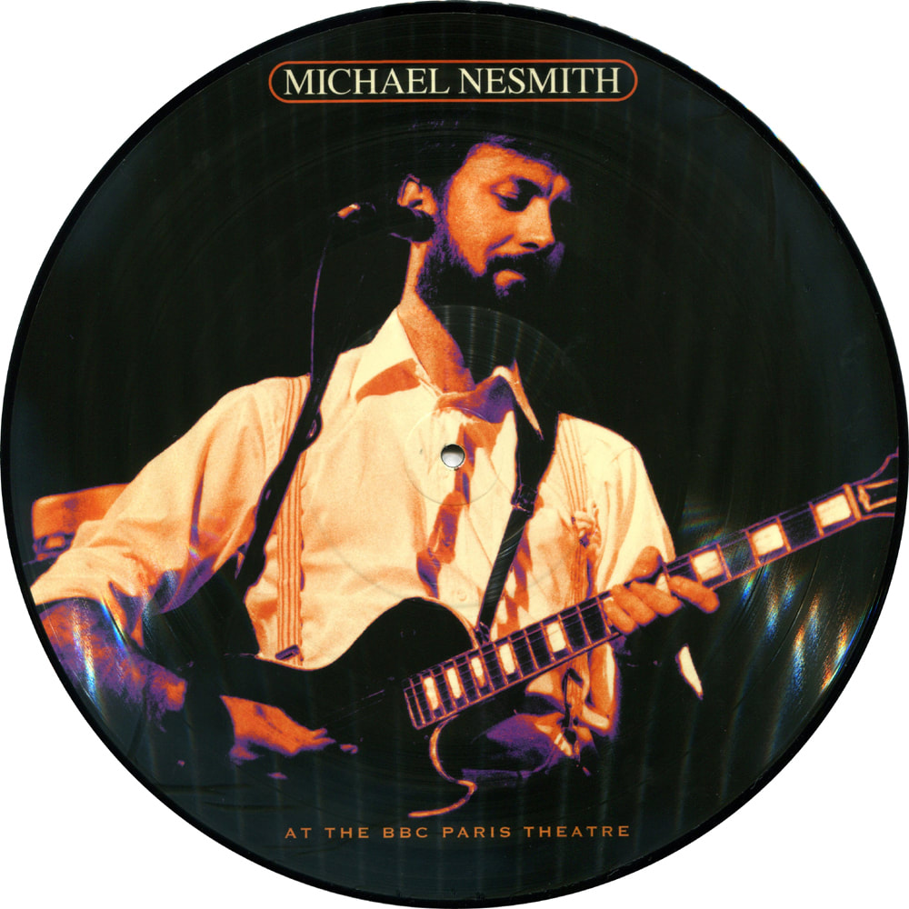 Michael Nesmith picture disc 7a BBC