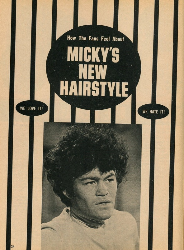 Micky Dolenz hair