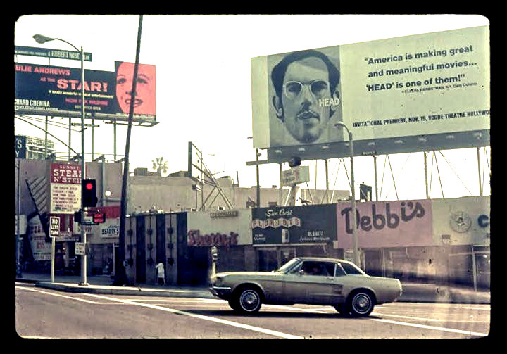 Monkees Head billboard ad Brockman