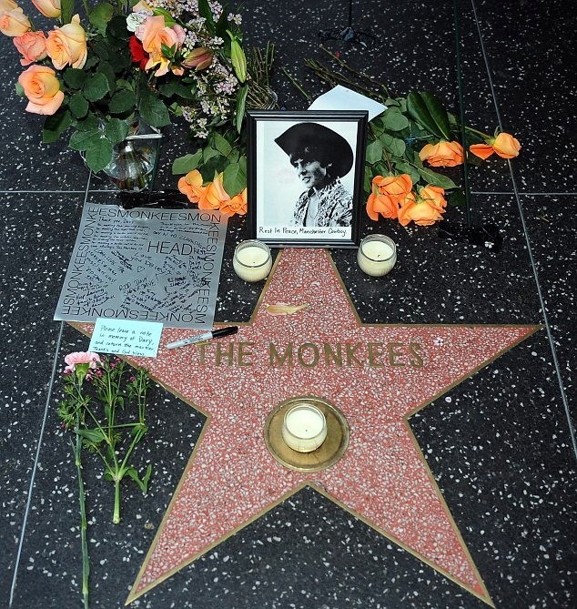 Monkees Hollywood Walk of Fame