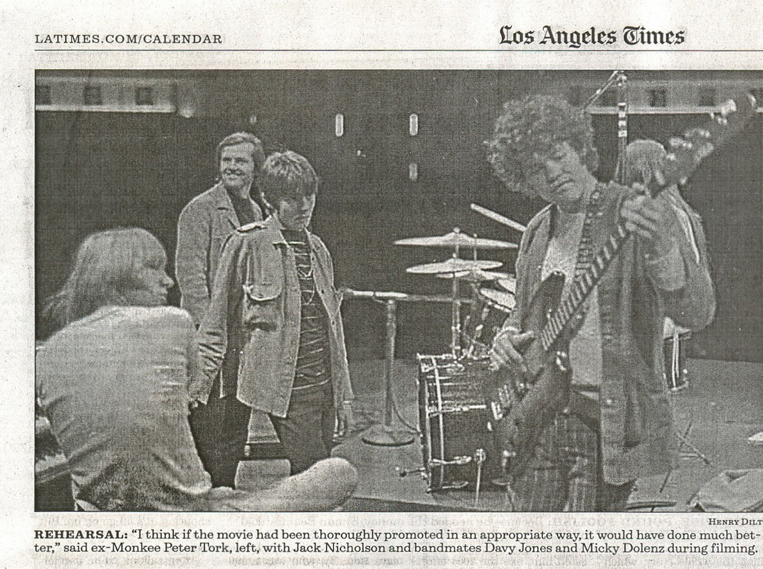 Monkees Los Angeles Times