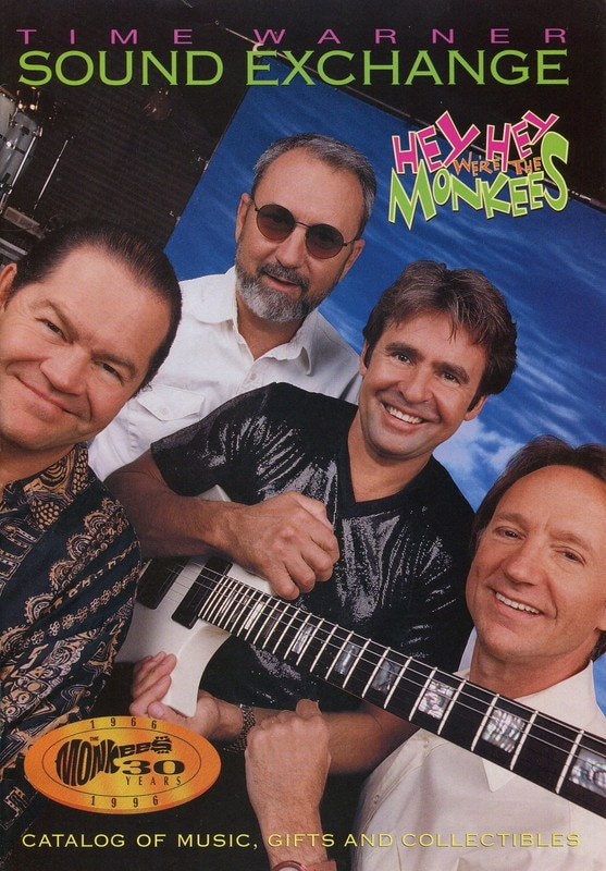 Monkees 1996 Time Warner catalog