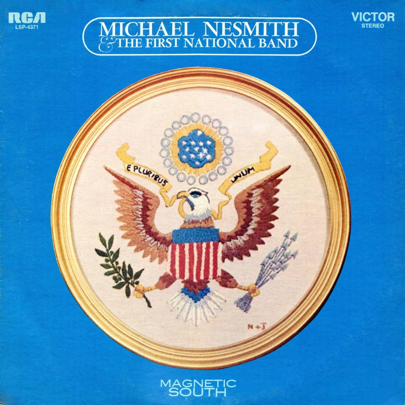 Magnetic South album cover Nesmith