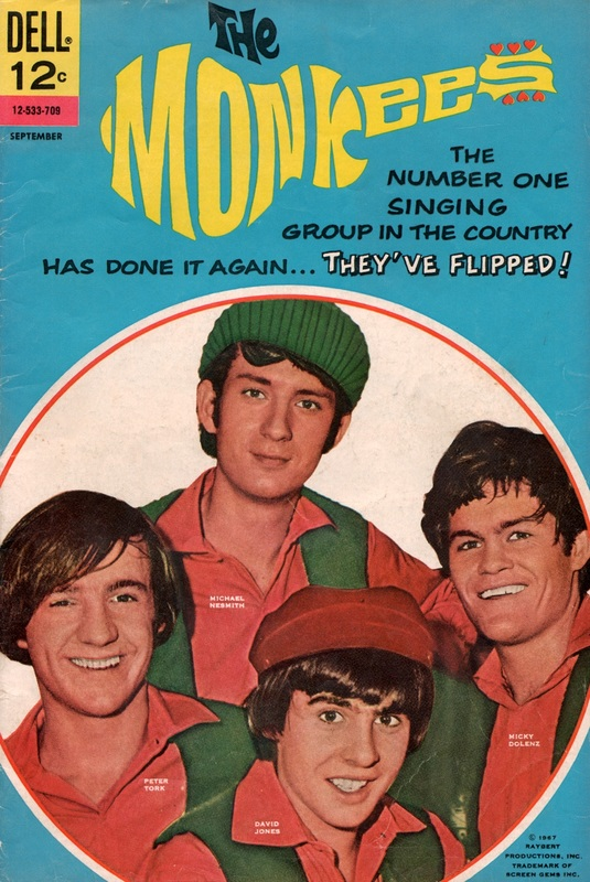 Monkees comic book issue4