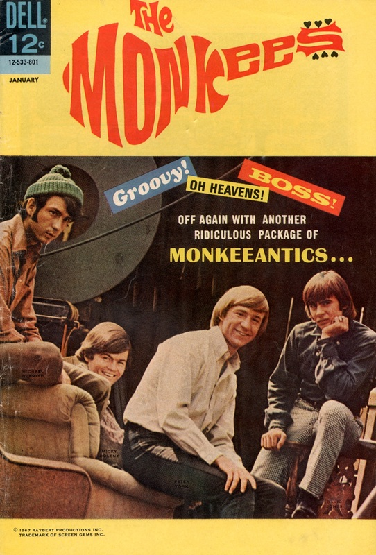 Monkees comic book 8