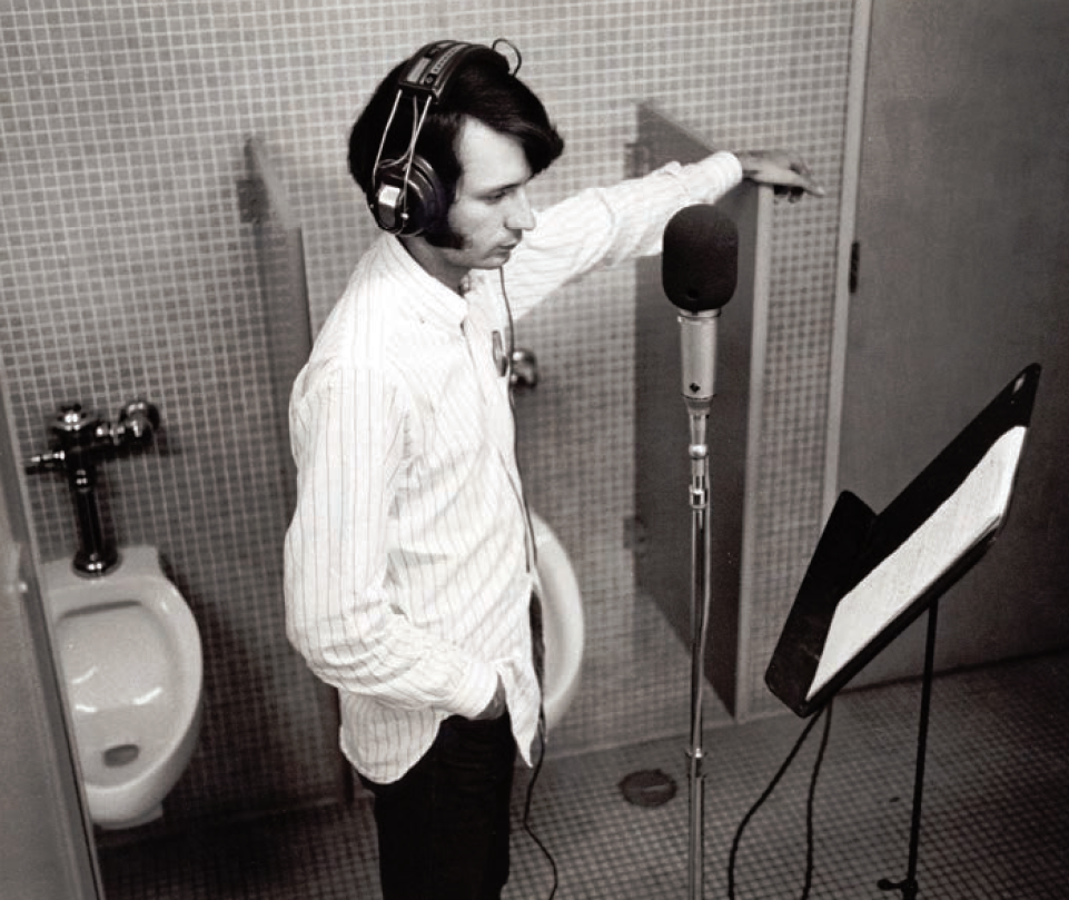 Mike Nesmith bathroom recording