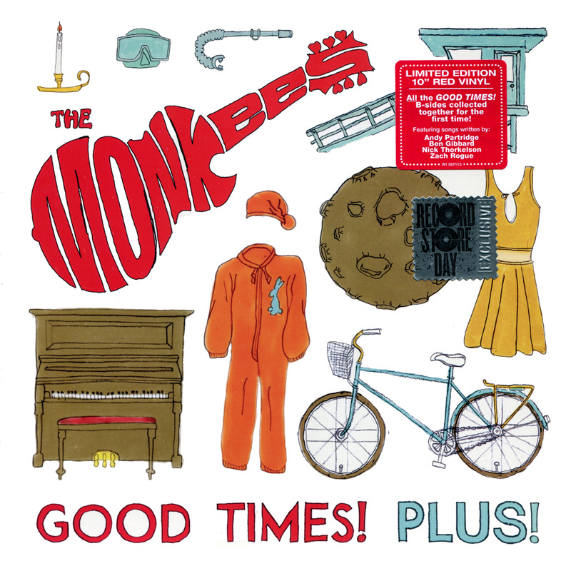 Monkees Good Times Plus Record Store Day