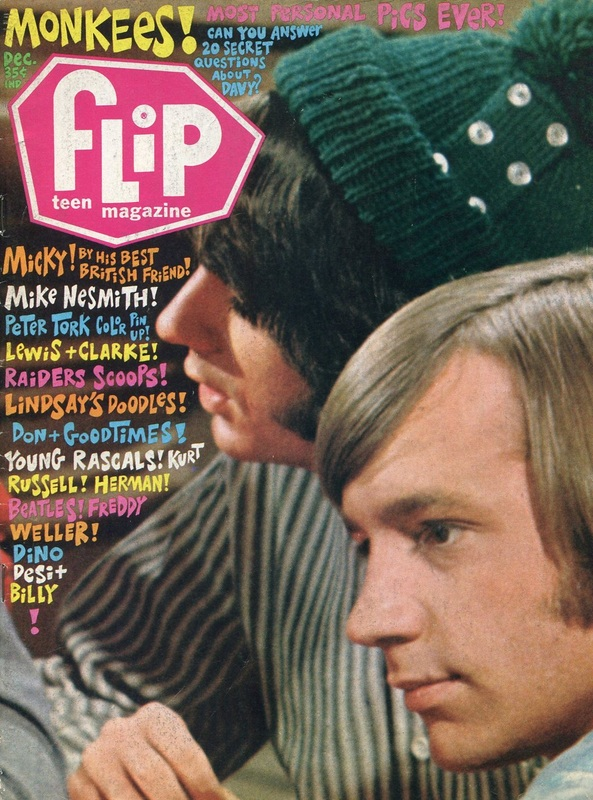 Monkees Flip magazine December 1967