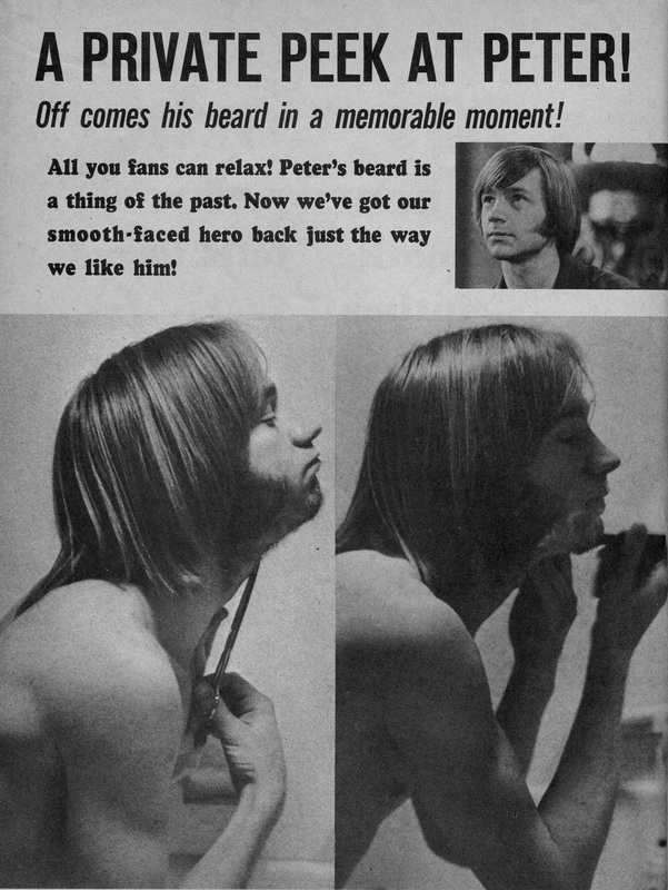 Peter Tork shaving