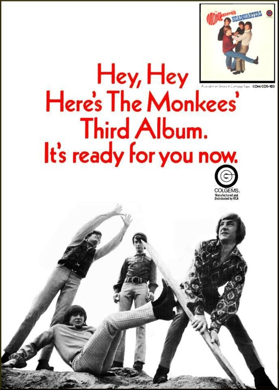 Monkees Headquarters Billboard ad