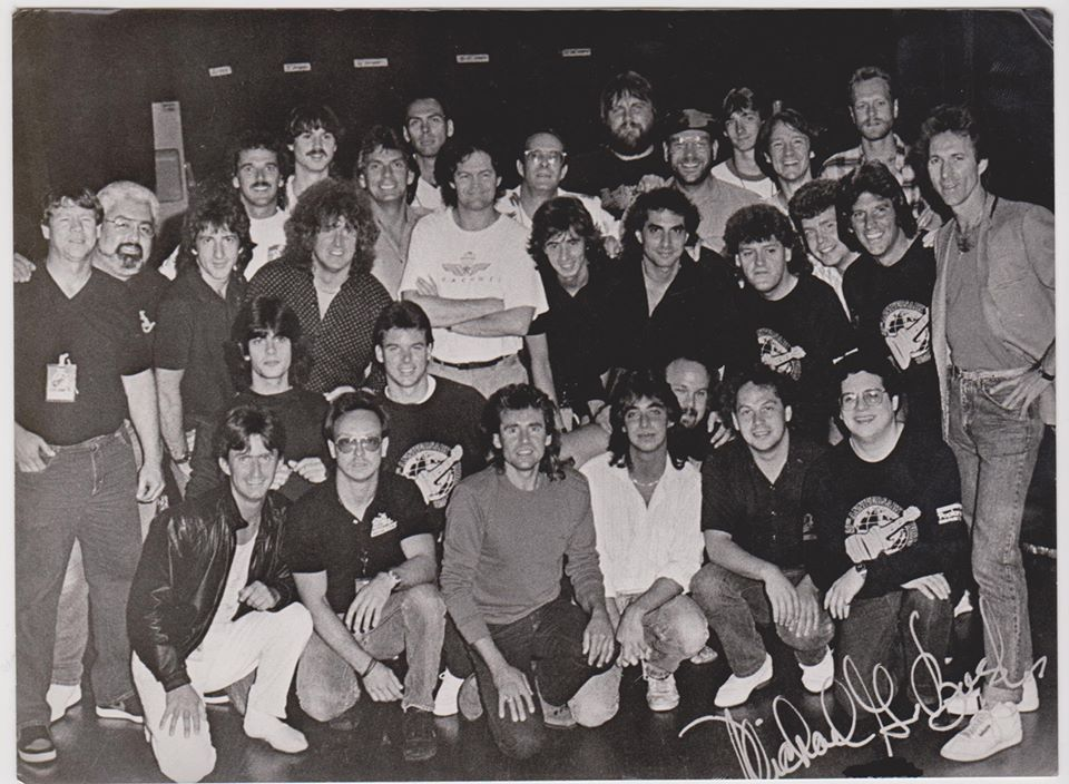 Monkees 1986 crew band