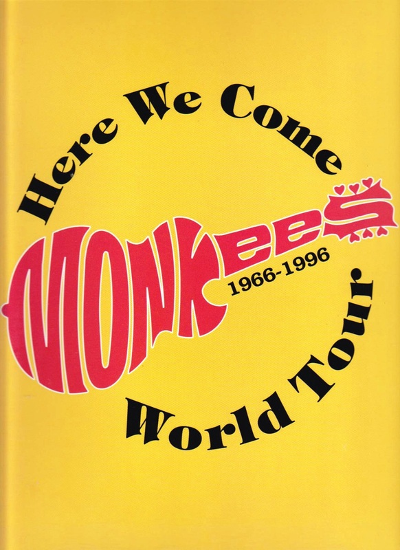 Monkees 1996 tour program