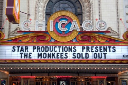 Monkees concert Chicago 2012