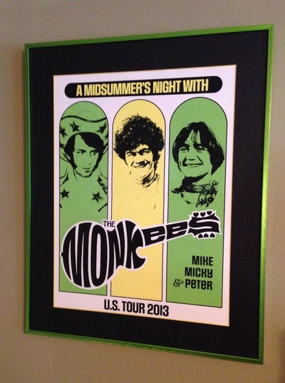 Monkees 2013 Tour Poster artwork