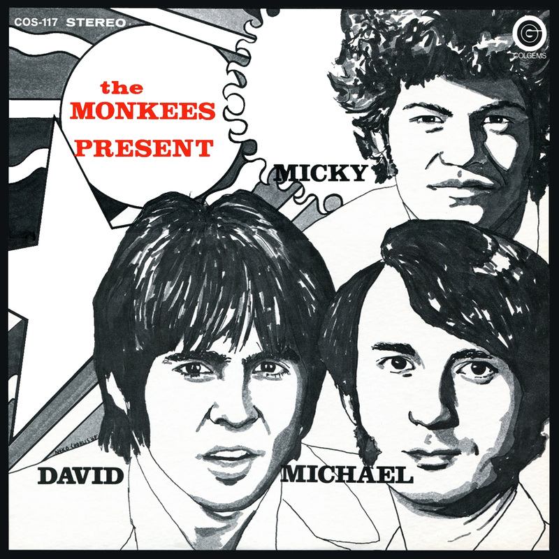 Monkees Present 1969 album cover