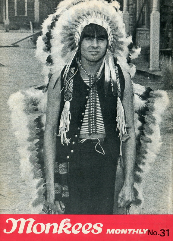 Davy Jones Indian head dress