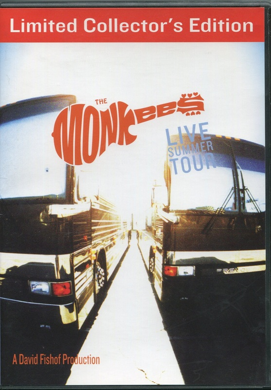 Monkees Live Summer Tour DVD Limited Edition