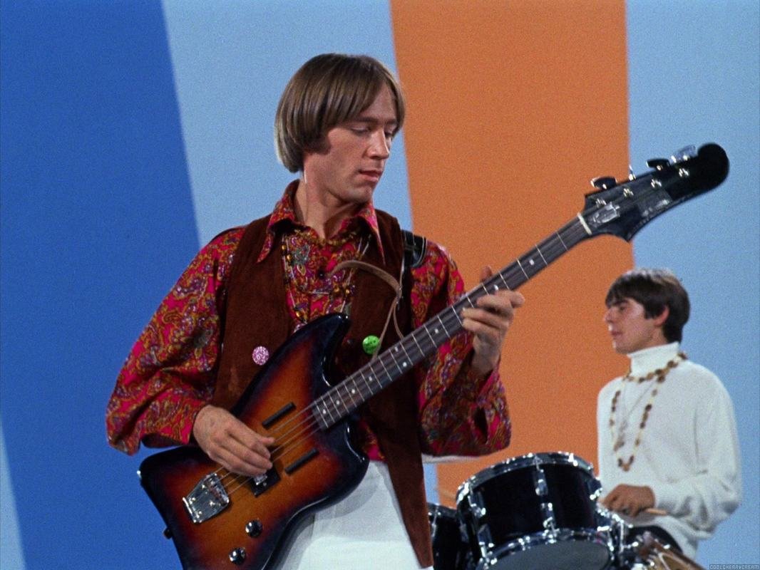 Peter Tork Guild bass guitar