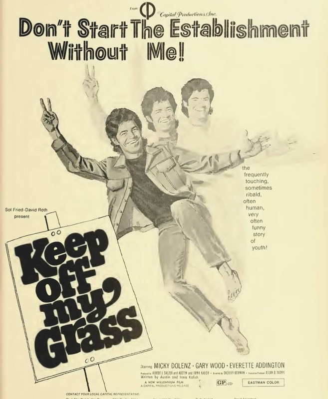 Micky Dolenz Keep Off My Grass poster